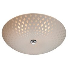 Celine 3 Light Flush Ceiling Light