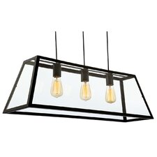 Kew 3 Light Kitchen Island Pendant