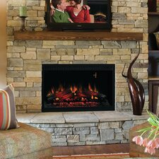 """36"""" Built-In Wall Mount Electric Fireplace Insert"""