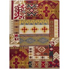 INT Hand Woven Rectangle Traditional Area Rug