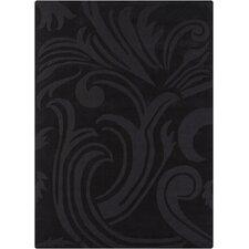 Jaipur Hand Tufted Rectangle Transitional Black Area Rug