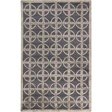 Harrow Grey Geometric Area Rug