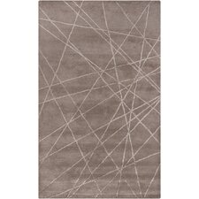 Harrow Brown Geometric Area Rug