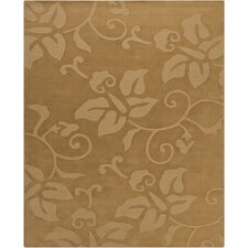 Ty Tan Floral Area Rug