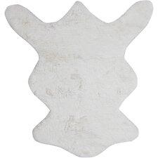 Bear White Area Rug