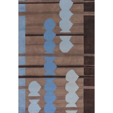 Avalisa Blue/Brown Area Rug