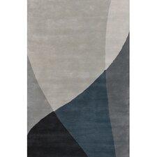 Bense Garza Black/Gray Area Rug