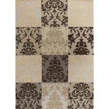 Calcutta Brown & White Indoor/Outdoor Area Rug