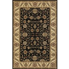 Diamond Black & Tan Area Rug