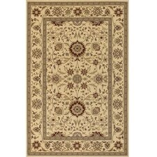 Diamond Brown & Tan Oriental Area Rug