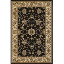 Diamond Black/Tan Area Rug
