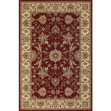 Diamond Red Area Rug