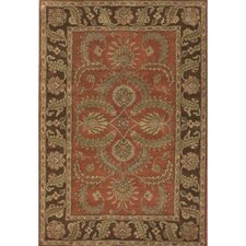 Scotia Brown/Red Area Rug