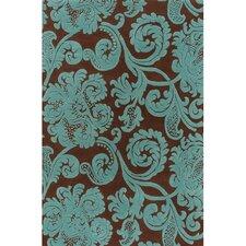 Venetian Brown & Blue Area Rug