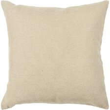 Textured Wool Throw Pillow