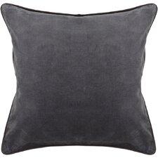 Textured Contemporary Cotton Throw Pillow