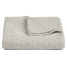 Lia Handcrafted Cotton Throw Blanket