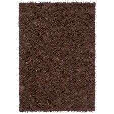 Riza Dark Brown Area Rug