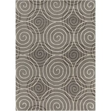 Int Hand Tufted Rectangle Contemporary Gray Area Rug