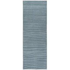 Antara Hand Tufted R Contemporary Blue Area Rug