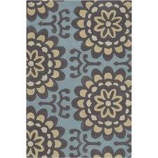 Amy Butler Blue Area Rug