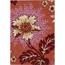 Amy Butler Caracas Orange Area Rug