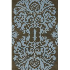 Amy Butler Brown/Tan Acanthus Area Rug