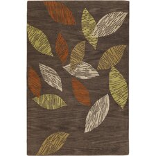 Aschera Brown Area Rug