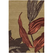 Aschera Tan/Brown Area Rug