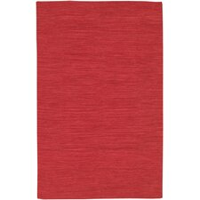 India Red Area Rug