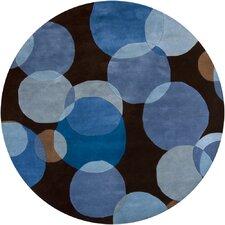 Avalisa Brown/Blue Area Rug