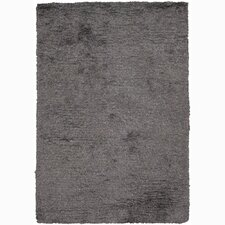 Acron Rayon Black/Gray Area Rug