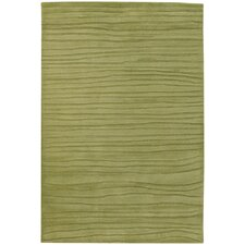 Antara Hand Tufted R Contemporary Green Area Rug