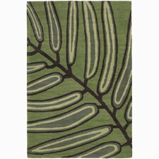 Aschera Green Area Rug