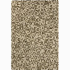 Retro Unique Beige Area Rug