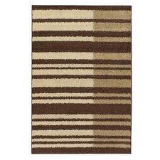 Roma Brown/Tan Stripes Area Rug
