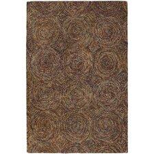 Galaxy Brown/Tan Area Rug