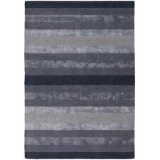 Gardenia Dark Grey Stripes Area Rug