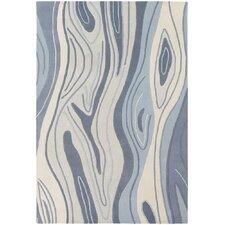 Inhabit Designer Blue Area Rug