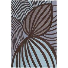 Inhabit Designer Cool Brown Area Rug