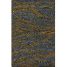 Navyan Blue/Brown Area Rug