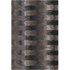 Navyan Brown/Black Area Rug