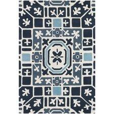 Parson Gray Designer Blue Rug