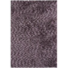 Vienna Shag Purple Area Rug