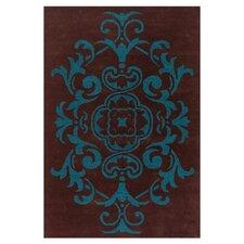 Venitian Brown/Blue Area Rug