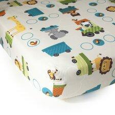 Choo Choo Fitted Crib Sheets (Set of 2)