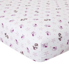 Lavender Woods Fitted Crib Sheet