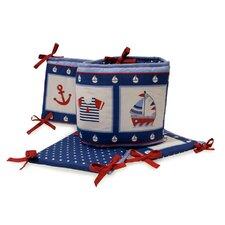 Sail Away Crib Bumper
