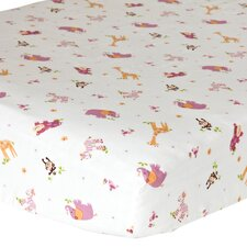 Lil' Friends Fitted Crib Sheets (Set of 2)