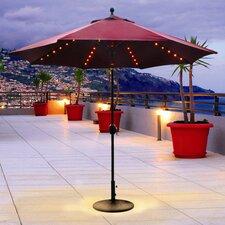 9' Lit Deluxe Illuminated Umbrella